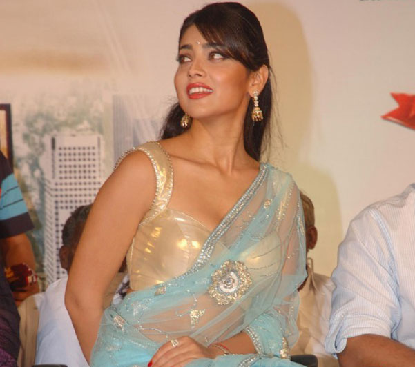 Shriya Hot Saree Collection