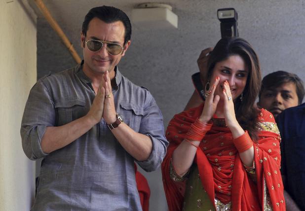 Kareena Kapoor Wedding Pictures With Saif ~ Wallpapers ...