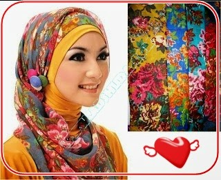 Hijab Paris Motif