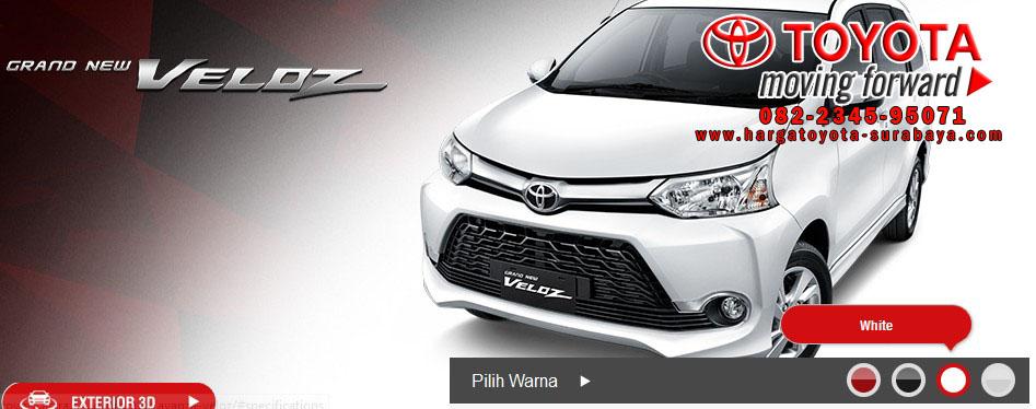 Grand New Avanza Veloz 2015 Agya Trd Black Harga Grend Mojokerto Toyota Gresik
