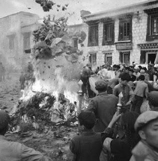 quema de libros china