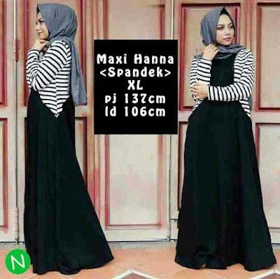 Jual Maxi Dress Maxi Dress Hanna - 12448