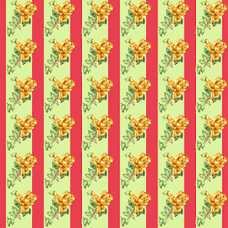 paper digital rose stripes download crafting