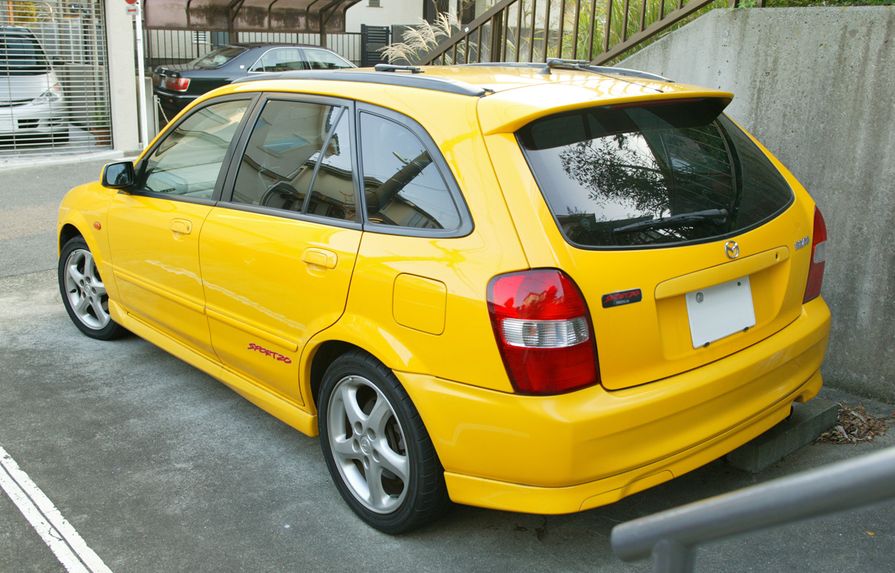 mazdamanual: 2002 Mazda Familia, Protege 5 GLC Electrical