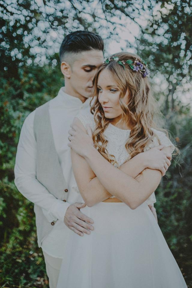 Justa medida vestidos de novia romanticos - Natural Soul Blog Mi Boda