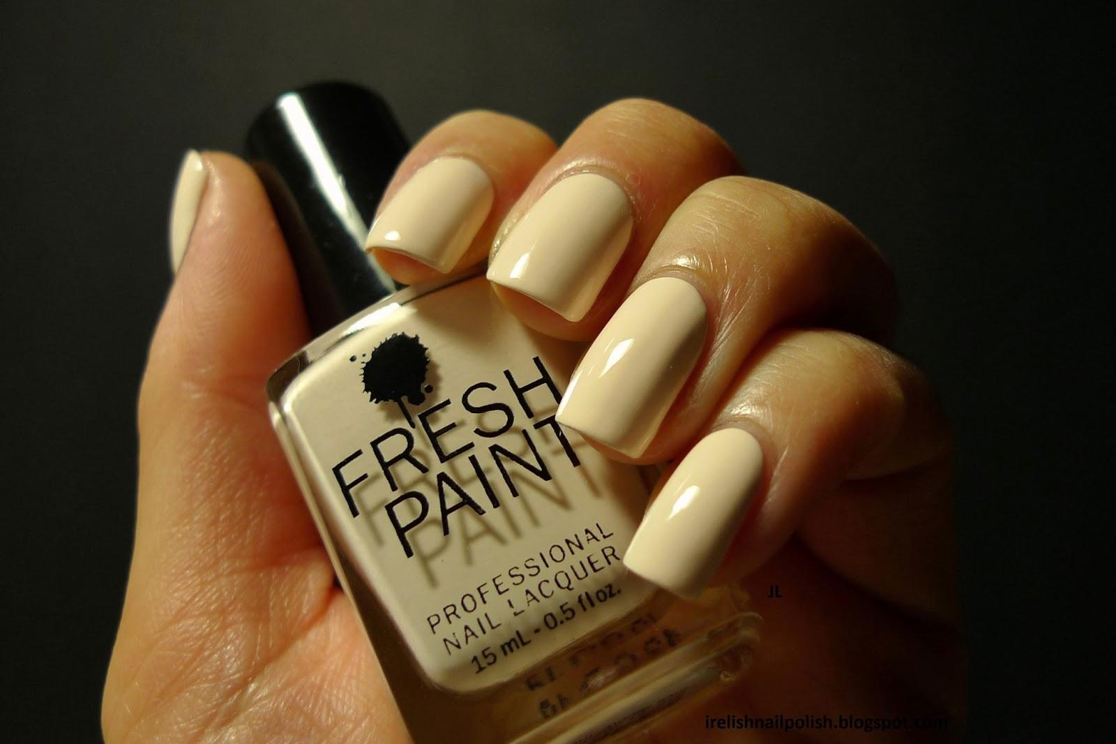 Enchanting Fresh Paint Nail Polish Colors Ornament - Nail Art Design ...