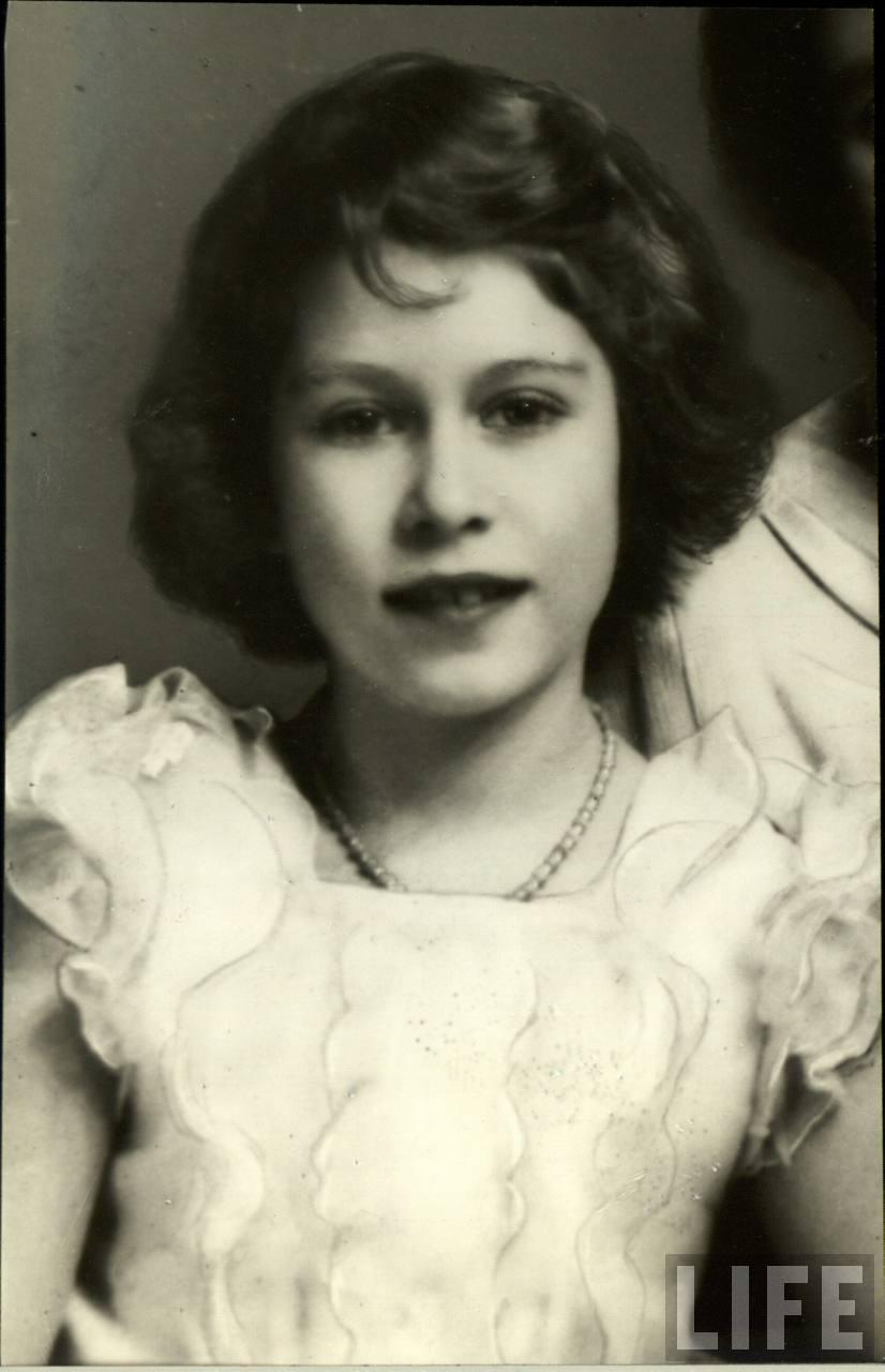 30 foto vintage rare e sbalorditive di una giovane regina-3014