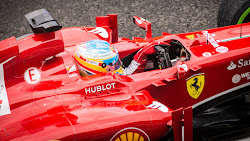 Formula 1: Alonso at Ferrari F1 Team