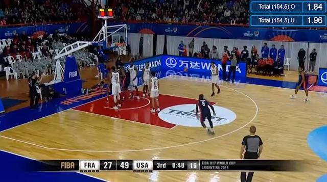 Livestream List: USA vs France 2018 FIBA U17 World Cup Championship Match
