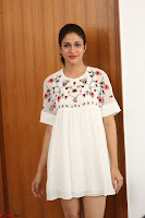 Lavanya Tripathi in Summer Style Spicy Short White Dress at her Interview  Exclusive 248.JPG