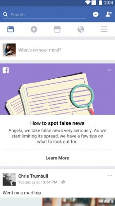 how to spot fake news on facebook