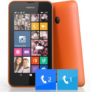 Harga dan Spesifikasi Microsoft lumia 530