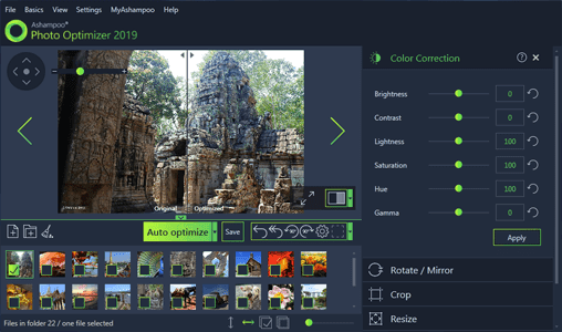 Ashampoo Photo Optimizer 2019 Full Features