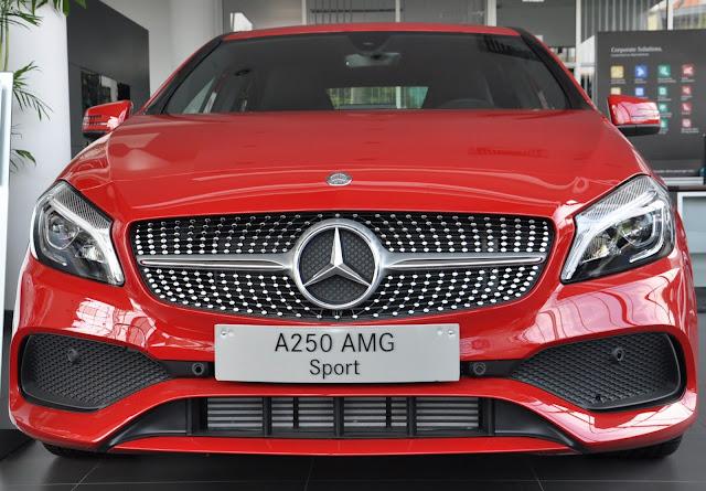 Mercedes A250 2017 là mẫu xe thể thao dành cho những ai yêu thích tốc độ
