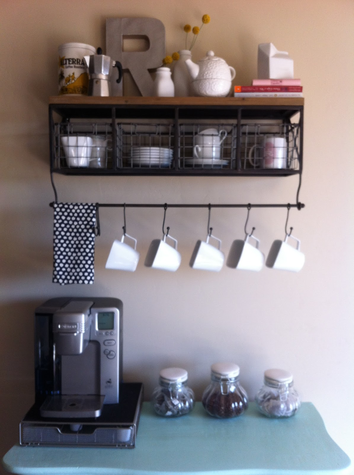 Coffee Bar Kitchen: Life More Lovely: Coffee Bar Reveal