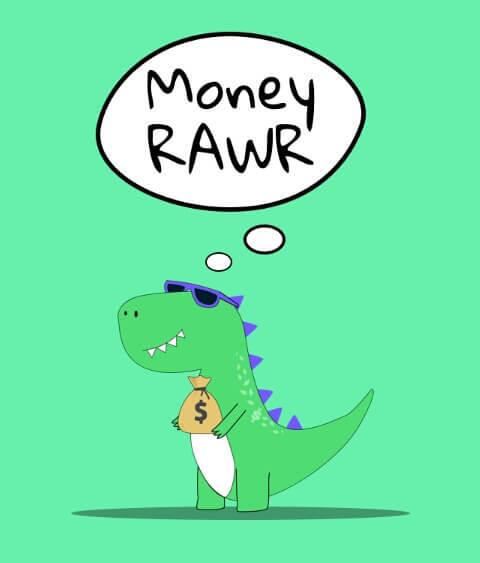 Cara mendapatkan Coins & Dollar dari aplikasi Money RAWR