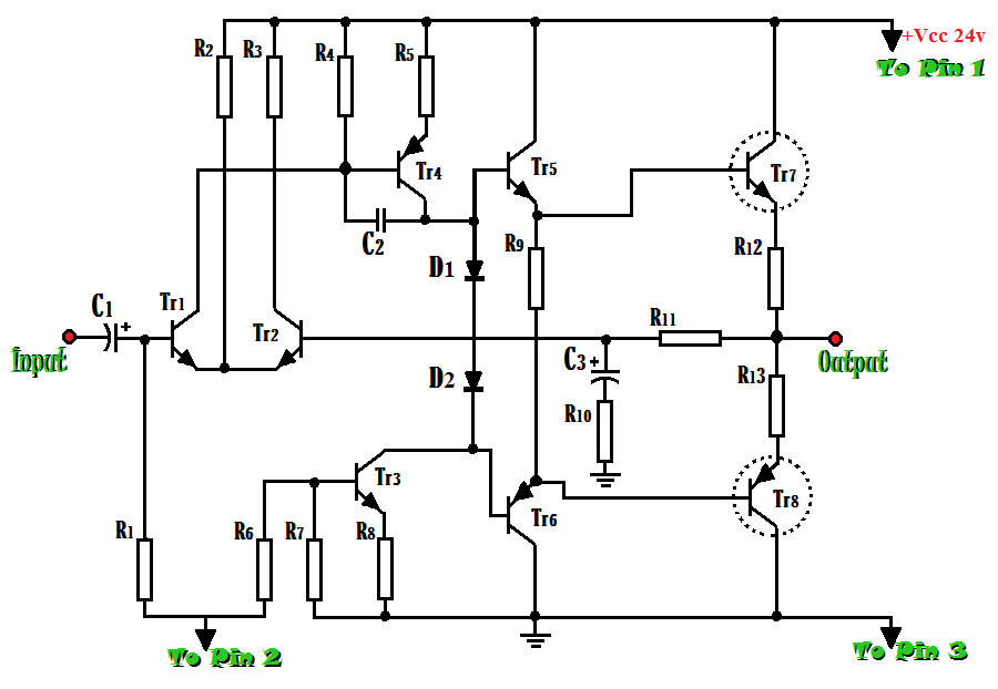 ::Berbagi ilmu::: Skema Rangkaian Amplifier 200 Watt