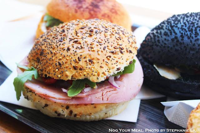 Ham, Lettuce, Tomato, Onion Sandwich at Gontran Cherrier in Paris