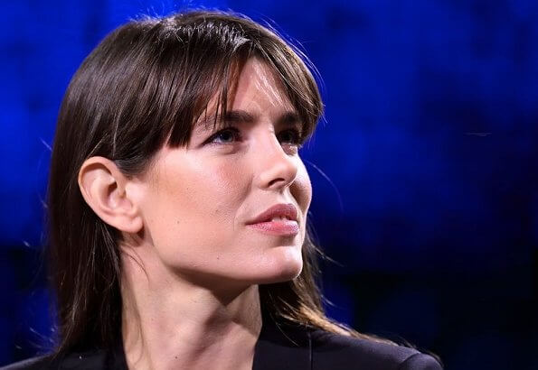 Charlotte Casiraghi attended the tv show
