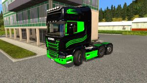 SD2 paint for Scania Streamline SCS