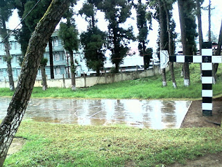 Basketball Court at IIM Shillong
