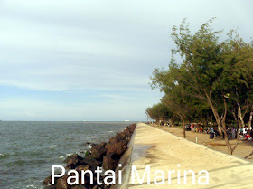 foto pantai marina