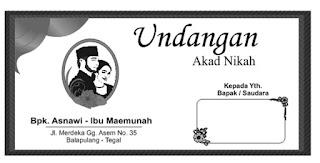 cover depan undangan akad nikah