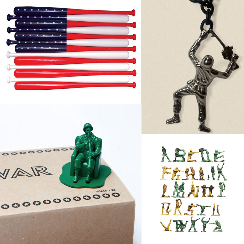 military inspired art and design