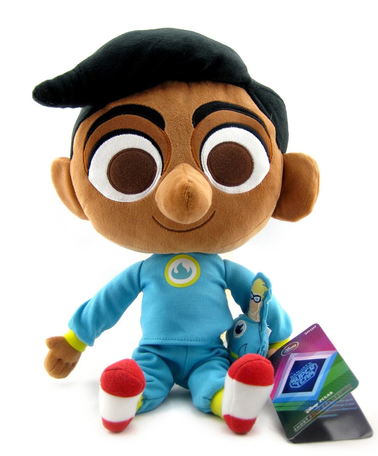 Dan the Pixar Fan: Sanjay's Super Team: Disney Store Plush