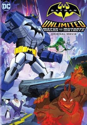 Batman Unlimited: Mech Vs Mutants 2016 DVD R1 NTSC Latino