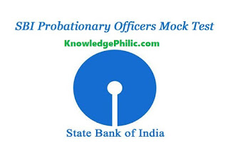 Download SBI PO Mock Test Paper in PDF by BSC