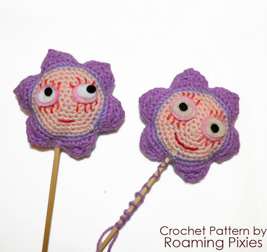 Free Crochet Pattern - Ben & Holly's Little Kingdom - The Magic Wand