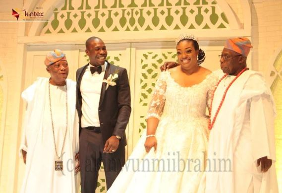 See Photos from the wedding of ex-president Olusegun Obasanjo's son, Olujuwon to Temitope Adebutu