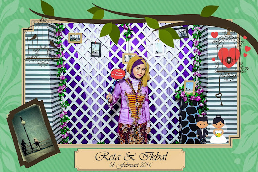 Jasa Photobooth di Madiun Wedding Reta & Ikbal