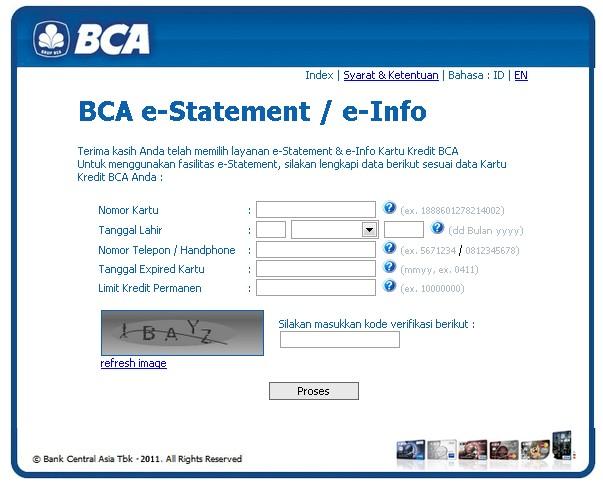 cek tagihan kartu kredit bca via internet go chenx rh chenx m blogspot com