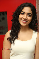 Actress Ritu Varma Stills in White Floral Short Dress at Kesava Movie Success Meet .COM 0137.JPG