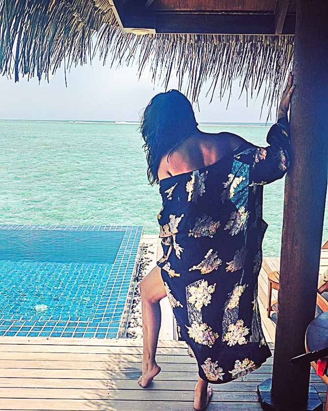 Shonali Nagrani at at the Taj Exotica Resort and Spa, Maldives