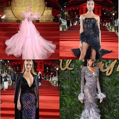 Best Dressed From The 2018 Fashion Awards In London
