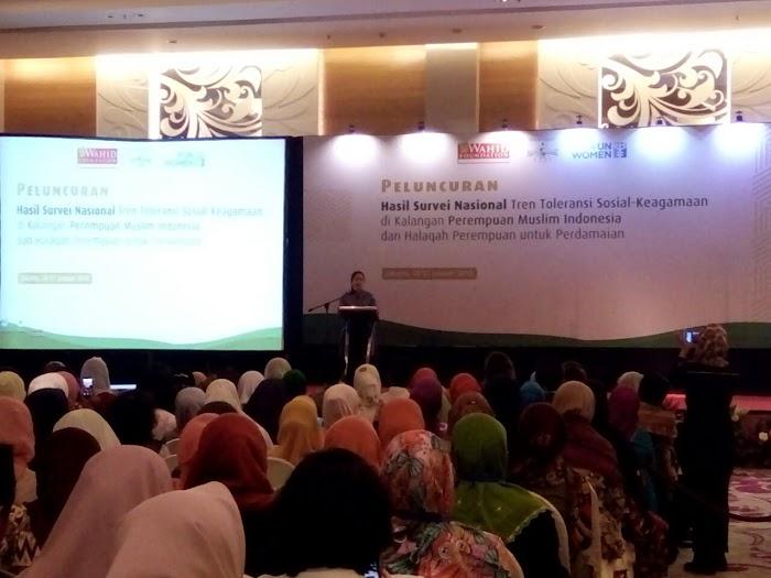 Halaqah Perempuan untuk Perdamaian; di gelar di Jakarta oleh Wahid Foundation