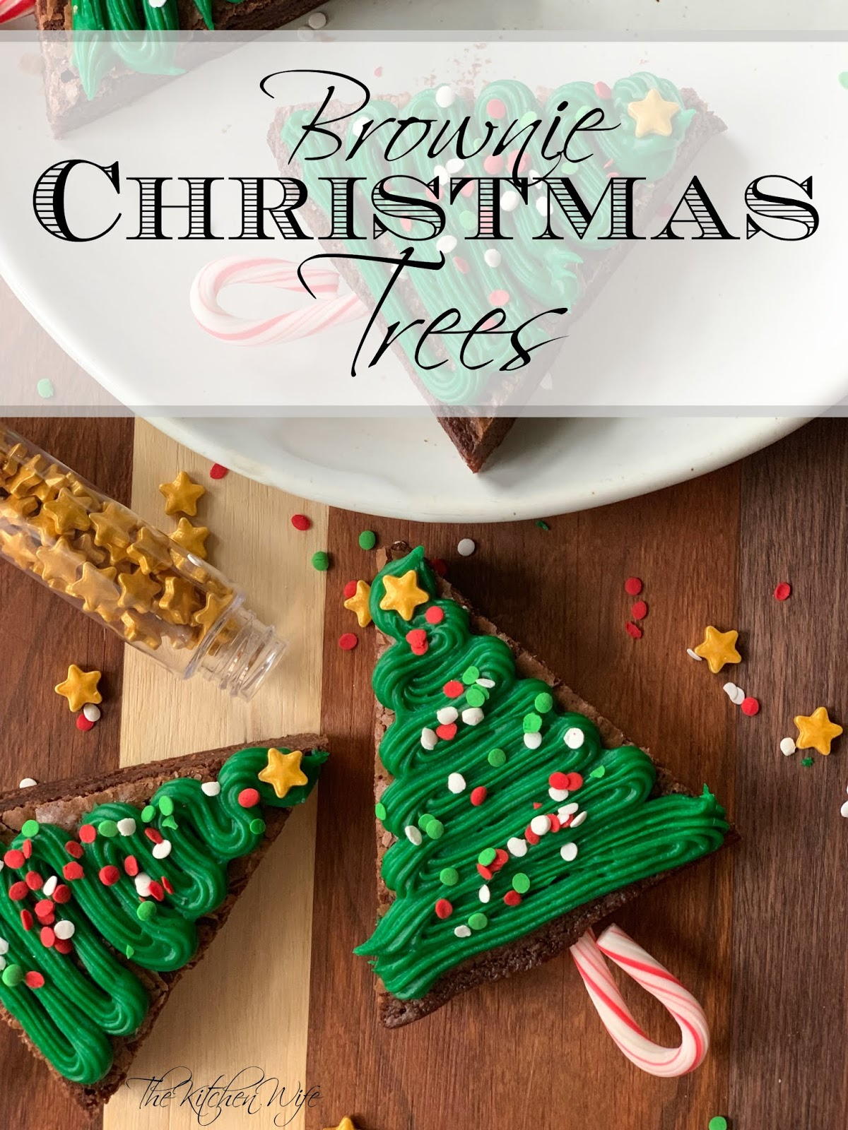 Brownie Christmas Tree Recipe The Kitchen Wife
