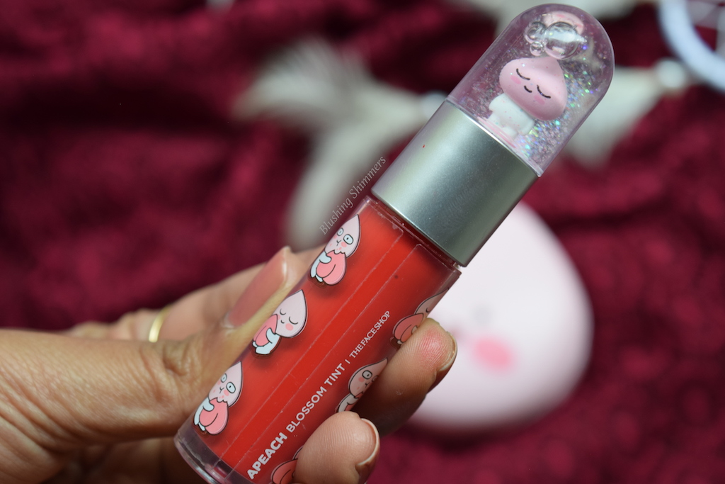 The Face Shop x KAKAO FRIENDS Blossom Tint- Ready Red