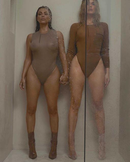 Kim Kardashian et Khloé Kardashian pour le magazine 032c édition Hiver 2016/17