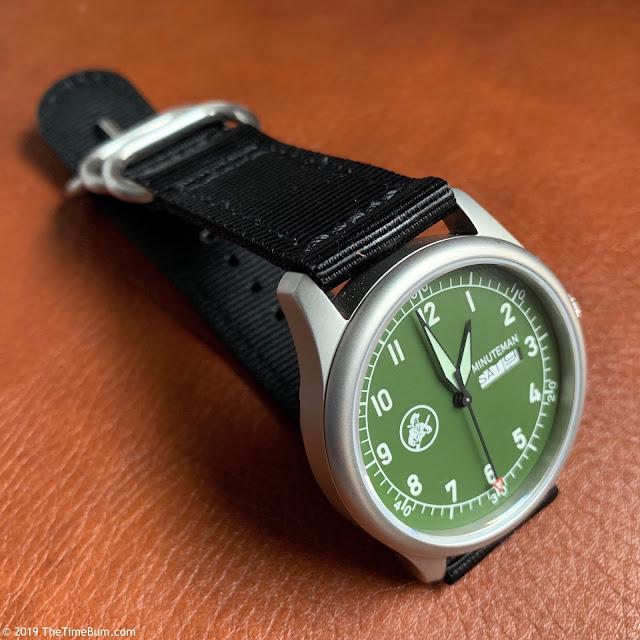 Minuteman A11 green strap