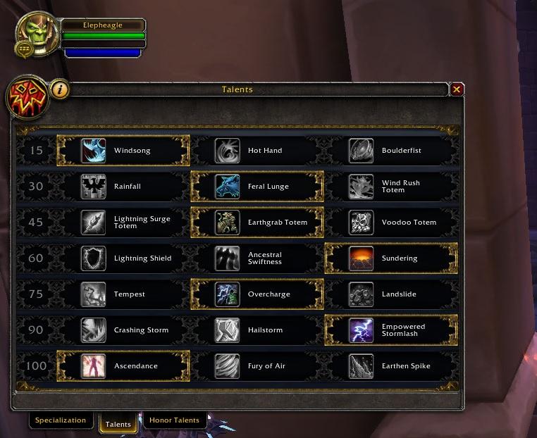 Best Shaman Build Legion