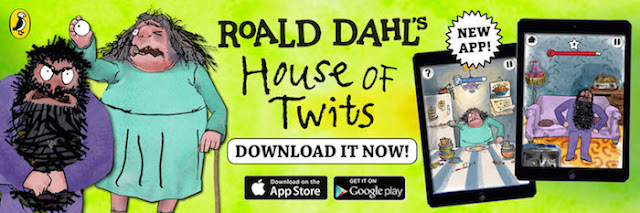 Roald Dahl's House of Twits App Now Available | Morgan's Milieu: Now available to download on the App Store and Google Play Store.