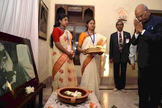 kovind-belur-math-visiting