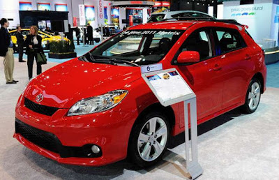 2017 Toyota Matrix Future