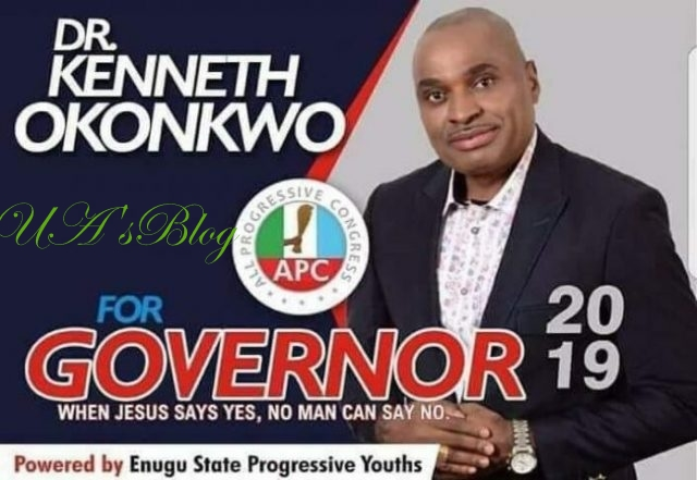 See Why Actor Kenneth Okonkwo Was Disqualified By APC From Contesting For Enugu Governorship Election