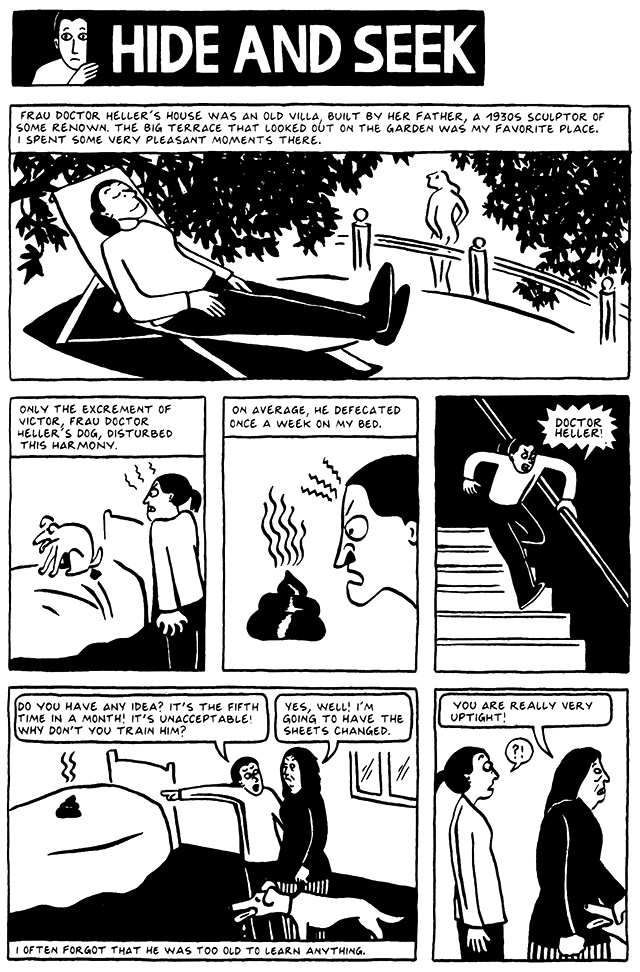 Read Chapter 7 - Hide and Seek, page 53, from Marjane Satrapi's Persepolis 2 - The Story of a Return