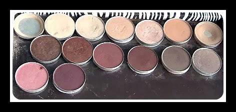 My MAC Eye Shadow Collection